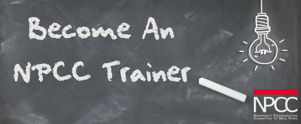 Become an NPCC Trainer