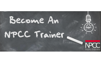 Become an NPCC trainer! Deadline to apply is July 20