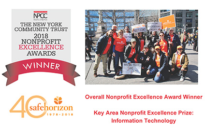 Nonprofit Excellence Awards Winner Insights from Safe Horizon