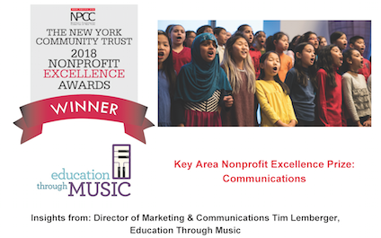 Nonprofit Excellence Awards Winner Insights From Education Through Music