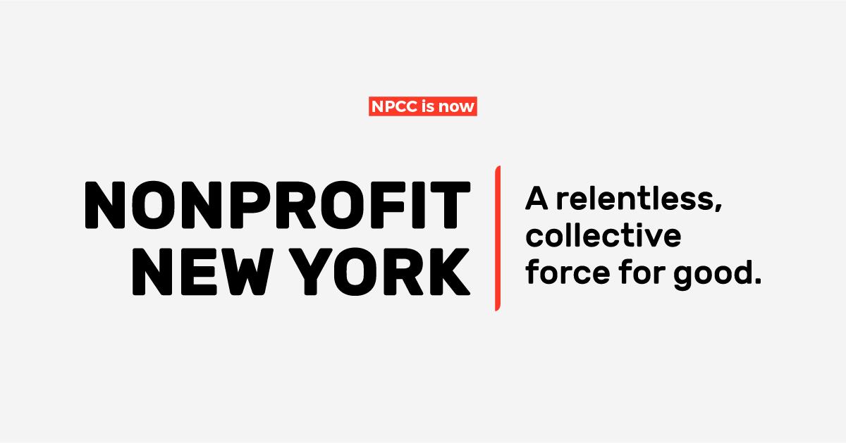 NPCC is now Nonprofit New York